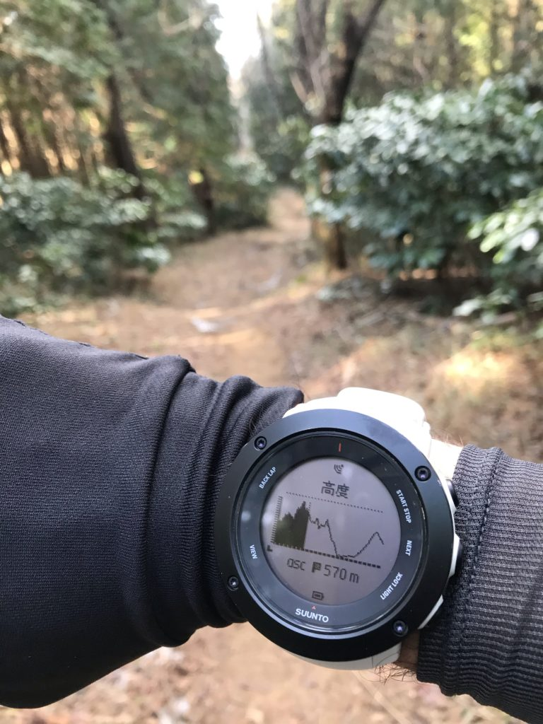 GPSウォッチ トレイルラン
