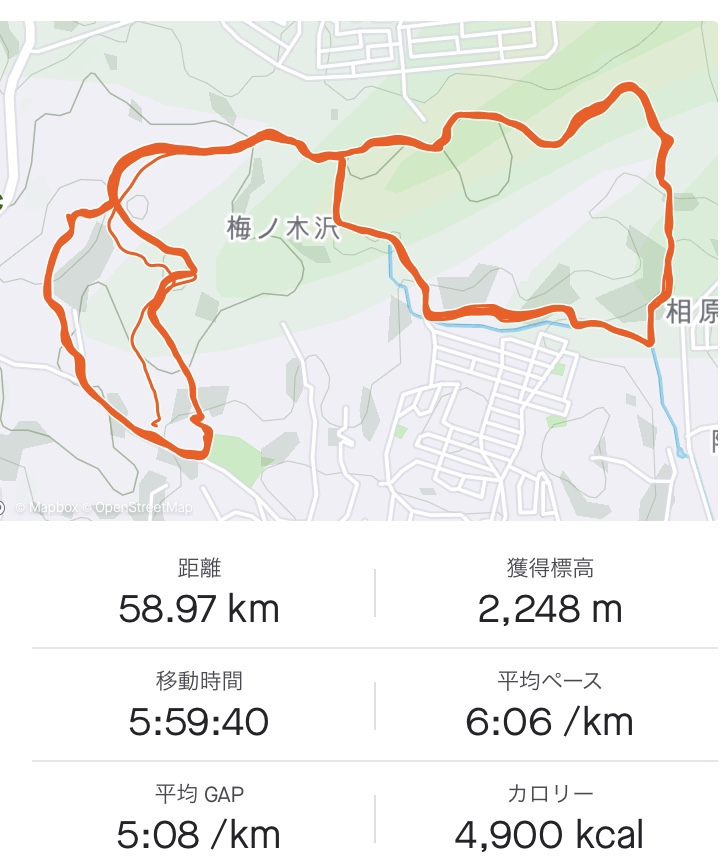 七国峠 トレイル
